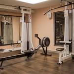 Fitnessraum Indoor Rower