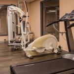 Fitnessraum Laufband, Crosstrainer
